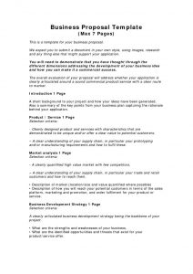 Business Brief Proposal template