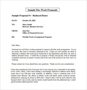 Flexible Business Proposal template: