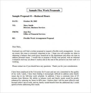 FlexibleBusiness Proposal template: