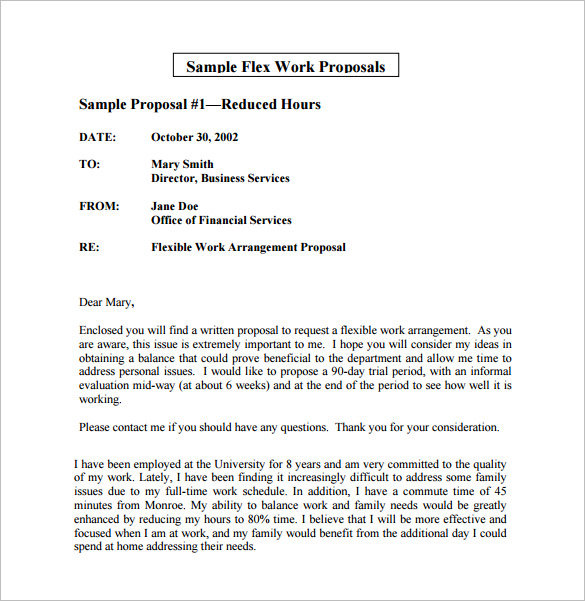 Flexible Business Proposal template