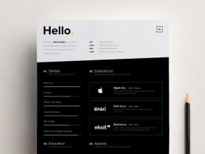 High- contrast  Brand Template