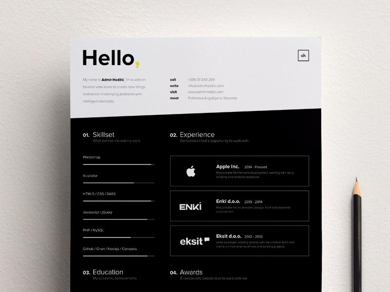 High- contrast Brand Template