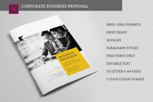 Suisee StyleBusiness Proposal template