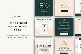 Muted And Minimal Brand Template