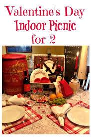 Arrange An Indoor Picnic