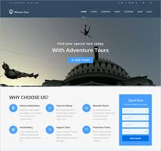Adventure WordPress Website Theme templates