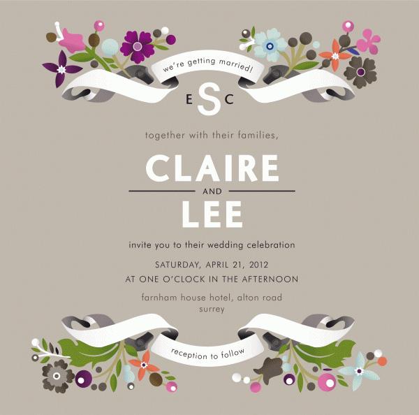 Creative Wedding Invitation Templates