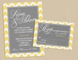 Grey Wedding Invitation Set Template