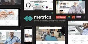 Matrics Business SEO HTML Template