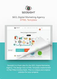 Seo Sight SEO HTML Template
