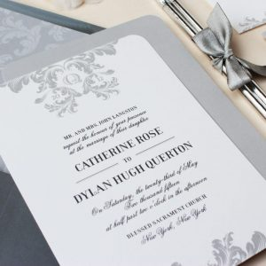 Simple Elegant Wedding Invitation Template
