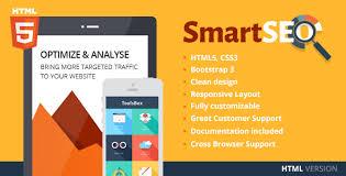 SmartSEO & Marketing HTML Template