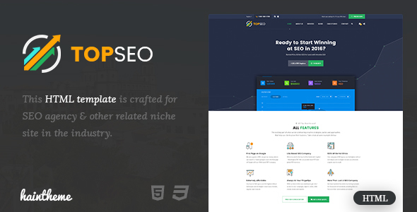 Top SEO Agency Template