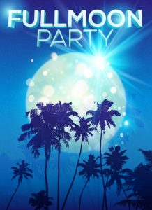 palm party templates
