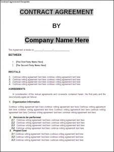 Business Legal Contract Templates