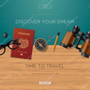 Adventure passport template
