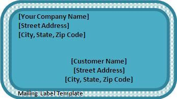 Mailing-Label-Template