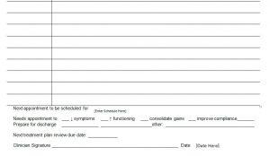 Medical progress report template