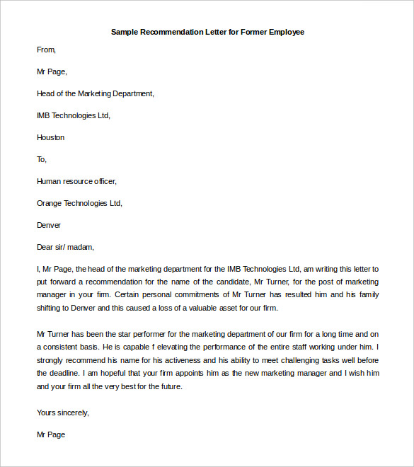 Recommendation-Letter-for-Former-Employee-Template-samples