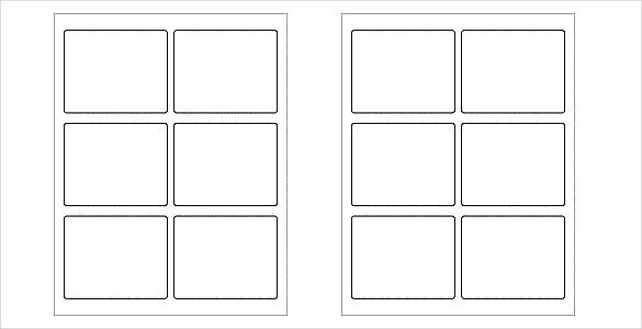 White-and-Blank–Label-Template-free