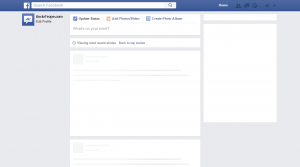 Facebook post template generator