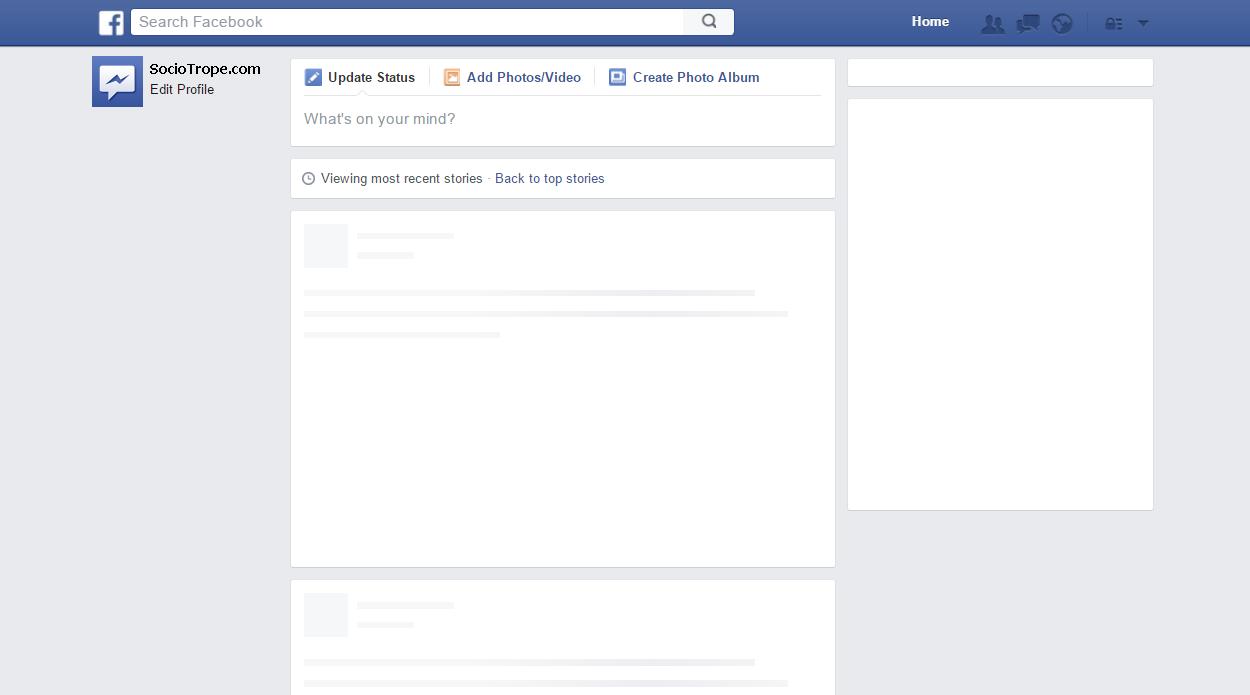 Facebook post template generator