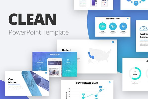 Free professional PowerPoint Templates