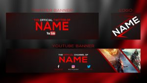 YouTube Banner Templates psd