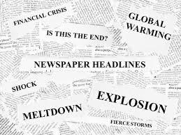 headlines PPT format newspaper template