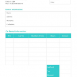 Free Printable Child Care Receipt Template