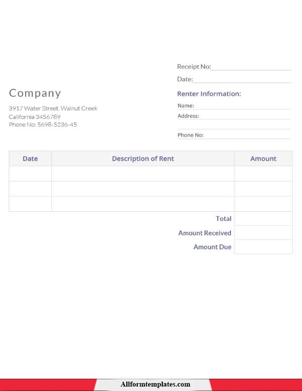 Donation Receipt Template Google Docs