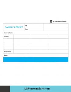 Donation Receipt Template PDF