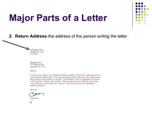 Proper Way to Address a Business Letter