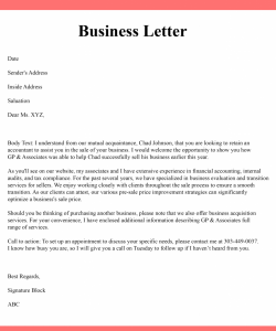 How to Write a Simple Business Letter