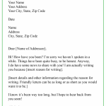Informal Business Letter Format