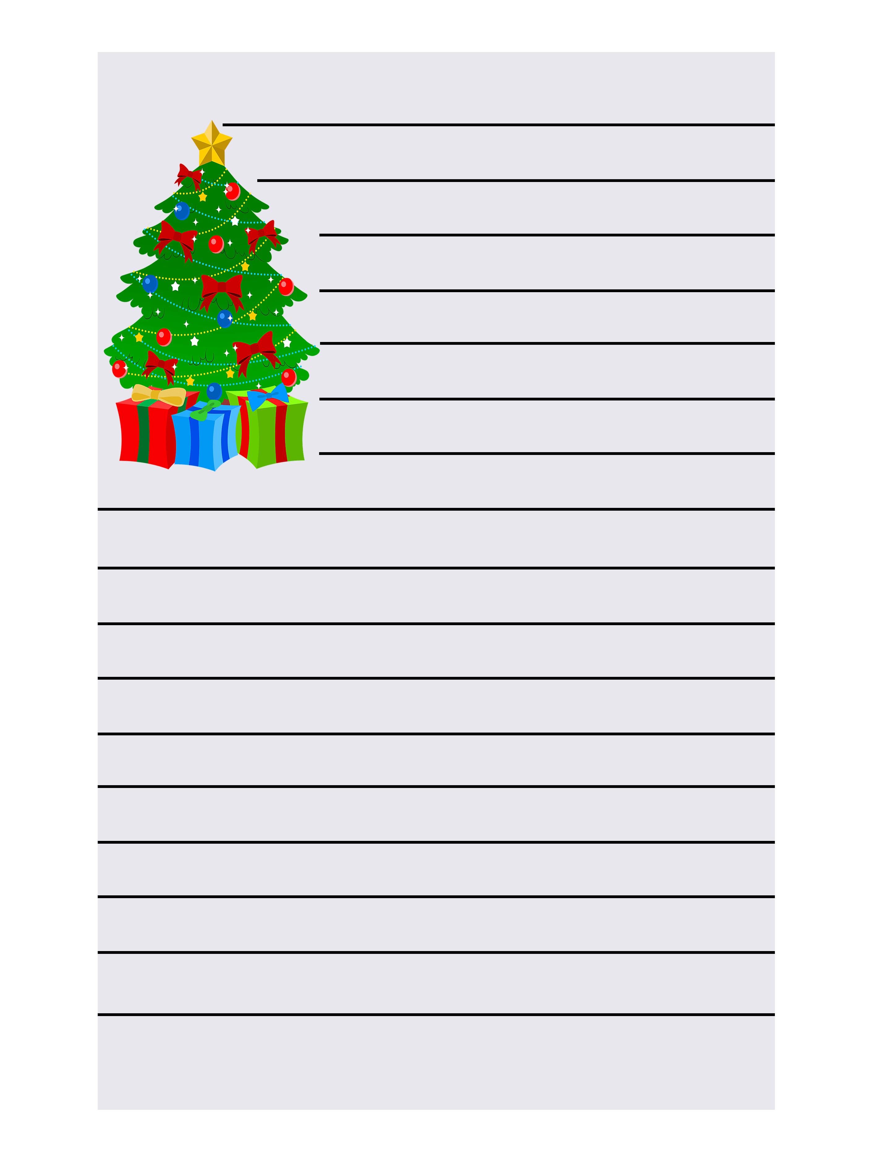 Christmas Writing Paper-min
