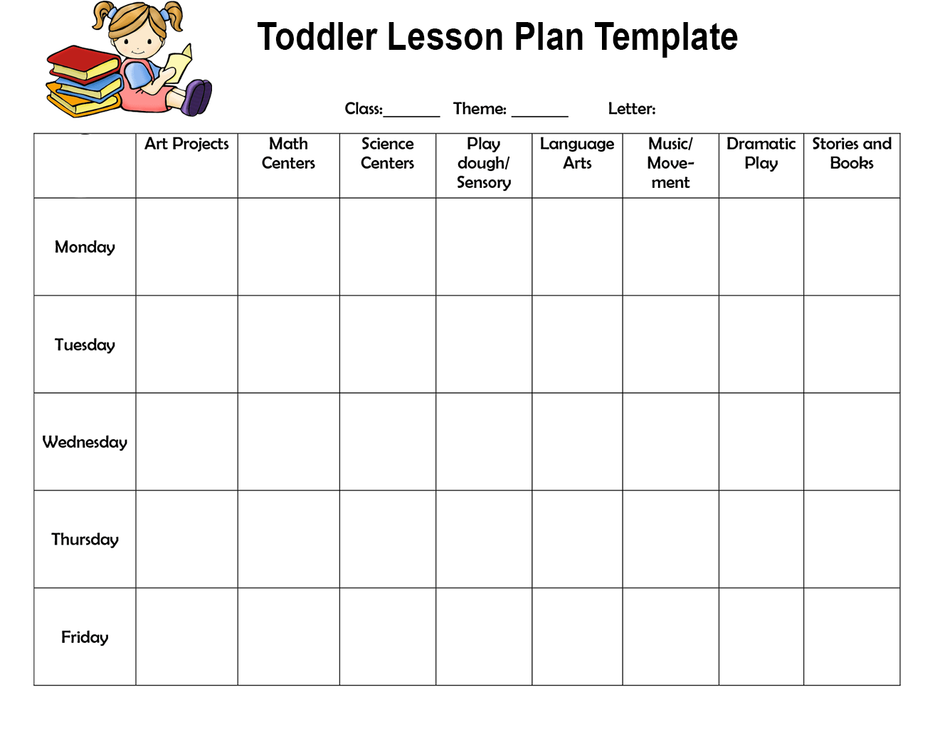 Toddler Lesson Plan Template-min