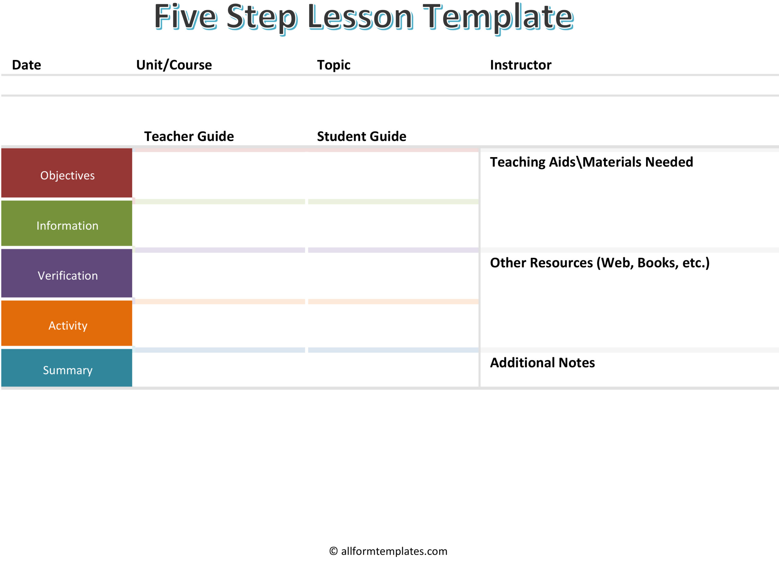 Five-Step-Lesson-Template-HD