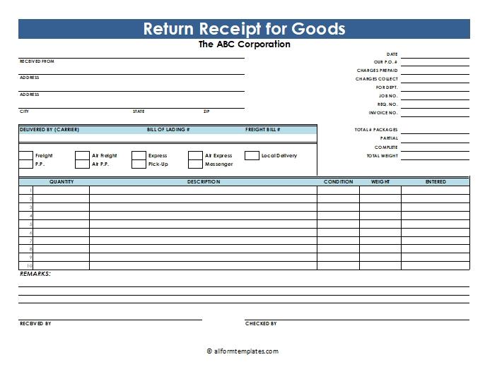 Return-Good-Receipt