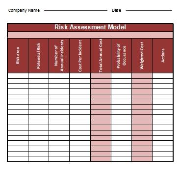 Risk-Assessment-Templates