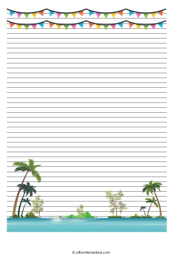 Summer-Line-Paper