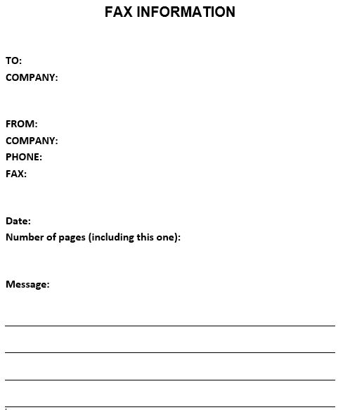 basic-fax-cover-sheet