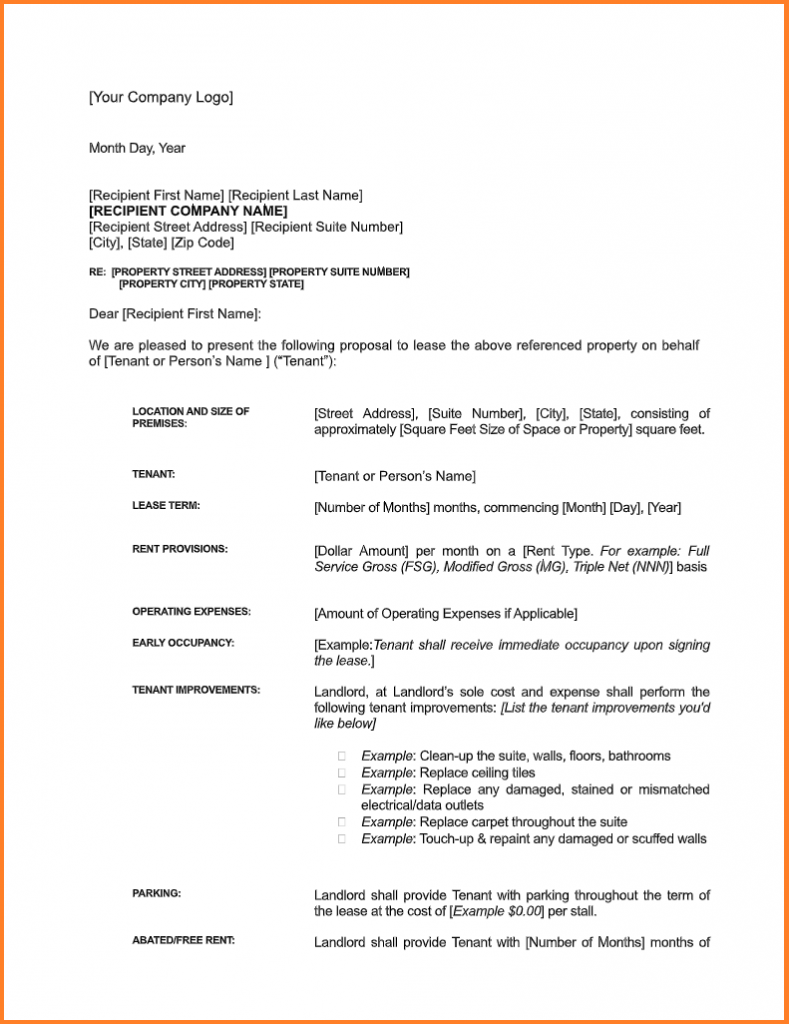 Letter Of Intent Templates from www.allformtemplates.com