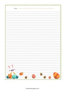 Easter-Bunny-Line-Paper.
