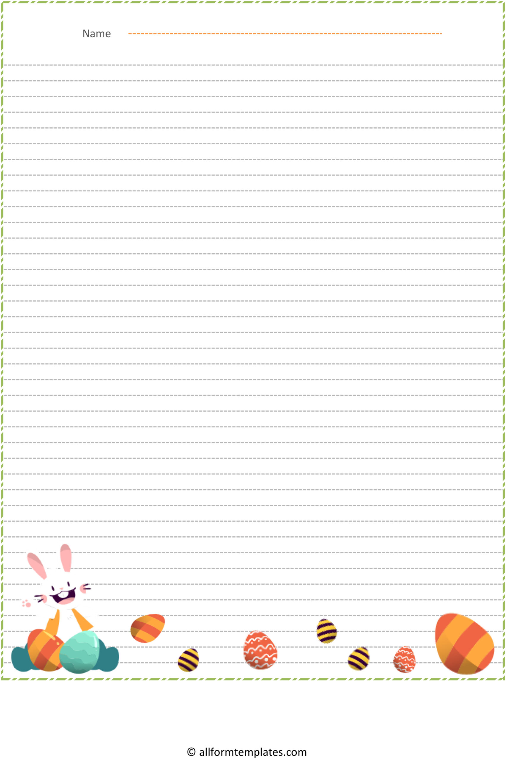 Easter-Bunny-Line-Paper-HD