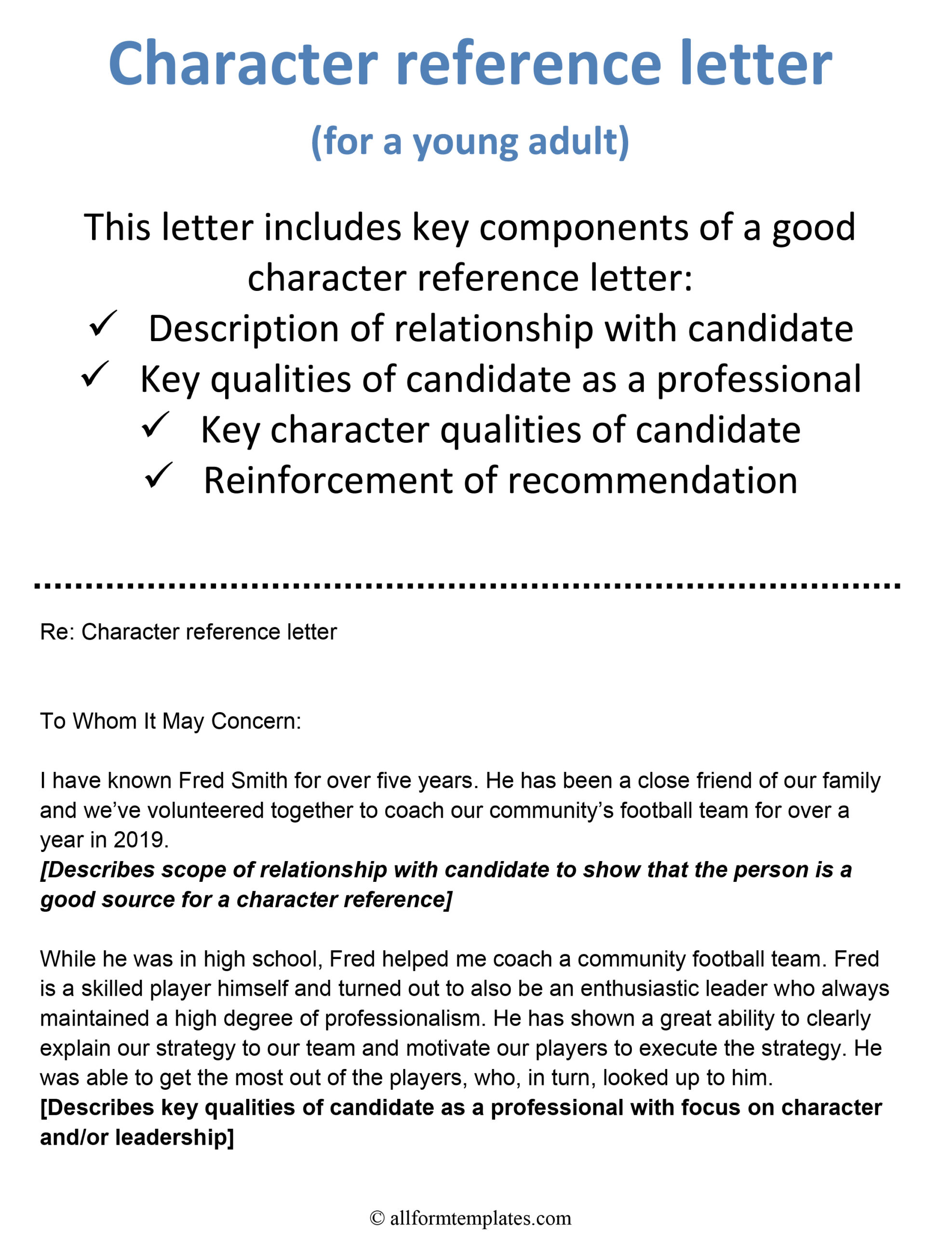Character Reference Letter Template Word from www.allformtemplates.com