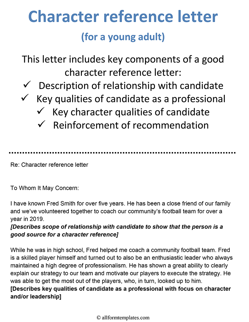 Example Of Reference Letter from www.allformtemplates.com