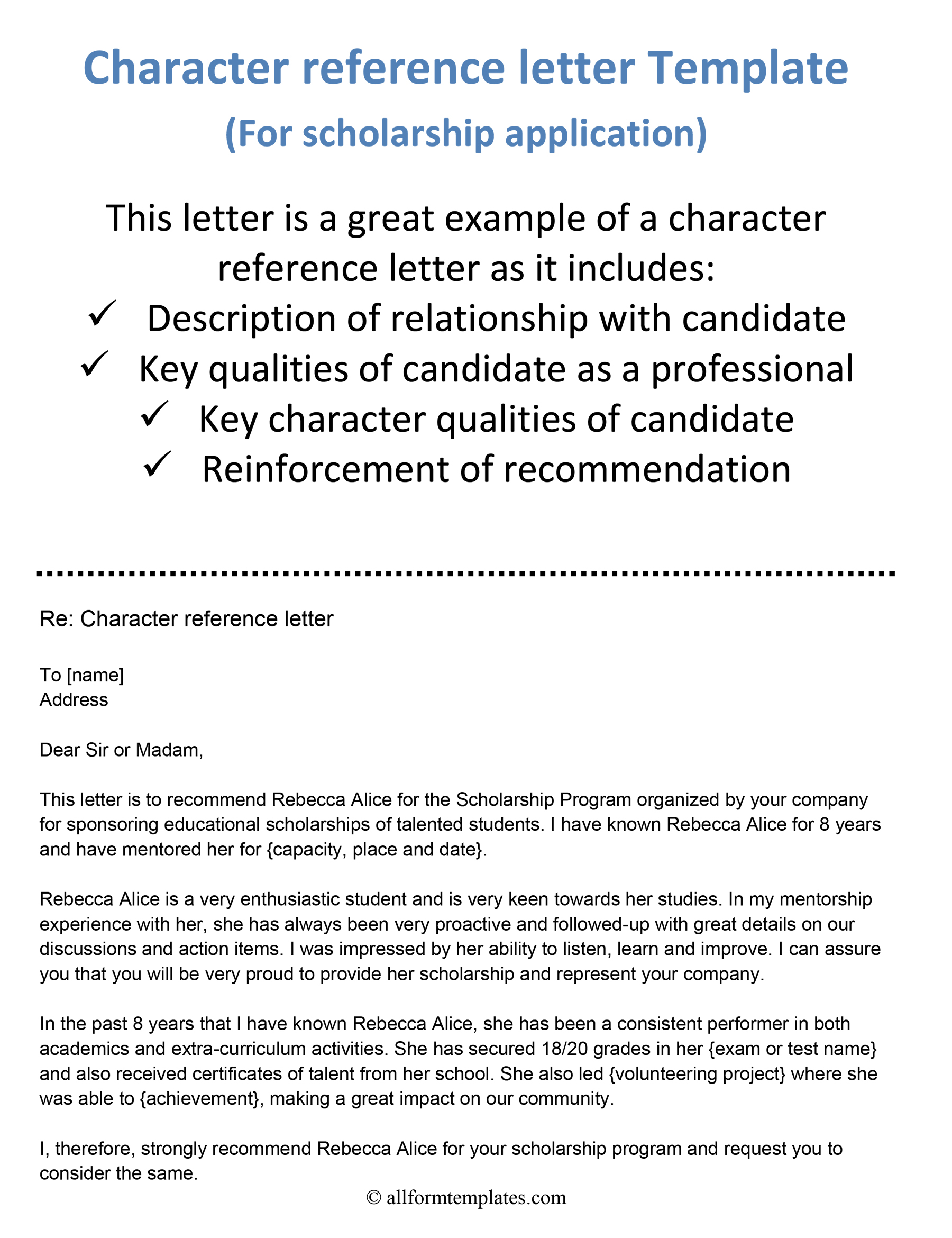 Personal Reference Letter Template Word from www.allformtemplates.com